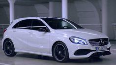 Mercedes A Class, Mercedes Benz, Benz A Class, Tv Commercials, Life Goals, Luxury Cars, Cool Cars, Wedding Dresses, Backgrounds