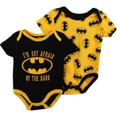 """Batman """"Bat Signal"""" Black/Gold 2-Pack Infant Bodysuit Set (18M) DC Comics,http://www.amazon.com/dp/B00ET3ODSO/ref=cm_sw_r_pi_dp_nJmNsb1ZK7B3T57T"""