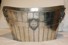 Bollinger vintage double champagne bucket / cooler.  Gorgeous