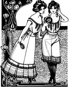 32 best folkwear patterns images clothes patterns clothing Dirndl Dresses 1950 203 edwardian underthings edwardian fashion edwardian era victorian era vintage fashion belle
