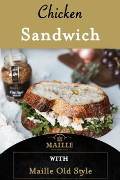 Easy Sandwich Recipes, Soup And Sandwich, Chicken Sandwich, Brunch Recipes, Appetizer Recipes, Dessert Recipes, Chicken Salad, Appetizers, Cold Sandwiches