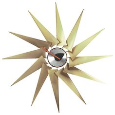 Turbine Clock by George Nelson for Vitra at Lumens.com