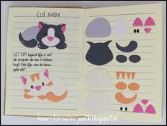 Puppy Crafts, Cat Crafts, Dog Cards, Kids Cards, Felt Board Patterns, Kids Punch, Paper Punch Art, Marianne Design Cards, Quiet Book Templates