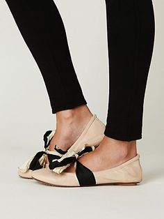 Jeffrey Campbell Swan Flat at Free People Clothing Boutique - StyleSays