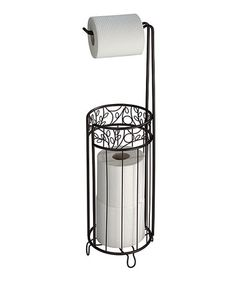 Take a look at this Bronze Twigz Roll Stand Dispenser by InterDesign on #zulily today!