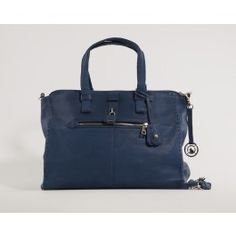 Say hello to the cold winter with this blue shoulder bag by Adax!    (Blå Adax Treviso Skuldertaske)