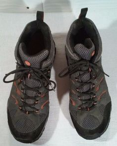 GoreTex Men's Boots Size 11 1/2 Merrill Continum Dark Gray Color #Merrell #HikingTrail