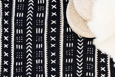 """This pattern is part of the """"Purposeful Patterns"""" initiative - a series of designs benefiting a variety of causes. $1 from the sale of each Mudcloth Blanket pattern will be donated to Mali Rising, a foundation dedicated to empowering the children of Mali, West Africa by expanding and impro"""