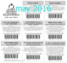 Sweet Tomatoes Coupons Ends of Coupon Promo Codes MAY 2020 ! Farm guests concept had Souplantation from of place in it's their for us. Grocery Coupons, Online Coupons, Love Coupons, Print Coupons, Free Printable Coupons, Free Printables, Dollar General Couponing, Free Kids Meals, Coupons For Boyfriend