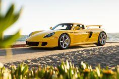 The Porsche Carrera GT earned some notoriety several years ago when it figured in the tragic death of actor Paul Walker. Porsche Gt, Porsche Carrera Gt, Volkswagen Golf Mk1, Cayman S, Mercedes Benz Amg, Car Tuning, Koenigsegg, Motor Car, Cool Cars