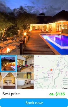 Casart Game Lodge (Phalaborwa, South Africa) – Book this hotel at the cheapest price on sefibo.