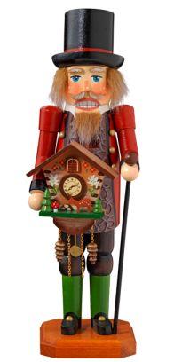 Neuheiten 2015 Nussknacker Uhrenverkäufer