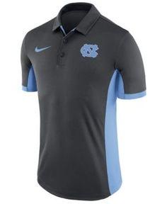 Nike Men s North Carolina Tar Heels Evergreen Polo - Silver S 5bc1000592e