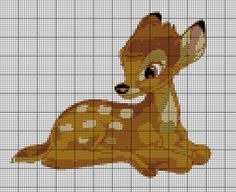 Free Cross Stitch Pattern - Bambi