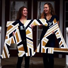 Love the Black and gold letters @Hannah Mestel Dunbar