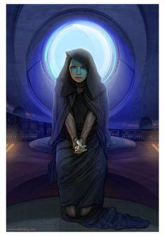 Alia Waits... by strib on DeviantArt