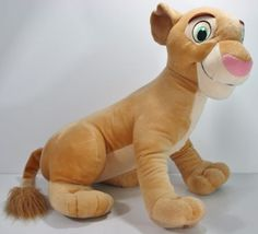 2002-LARGE-Young-Nala-The-Lion-King-Disney-20-Doll-Plush-Stuffed-Animal-Toy