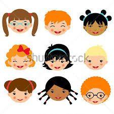caras de niños para colorear - Buscar con Google