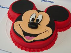 Mickey Mouse Fondant Cake on Cake Central