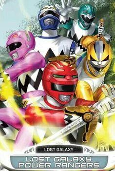 Lost Galaxy Power Rangers