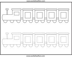 Butterfly Tracing and Coloring – 4 Preschool Worksheets / FREE ...