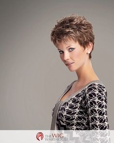 Short and sweet, with a no fuss style you'll adore, the Zest wig by Gabor is a spiky layered update to the classic pixie cut. Loose layers offer amazing texture and depth at the crown, while also enha