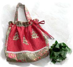 (9) Name: 'Sewing : O Christmas Tree Bag