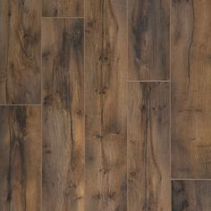 allen + roth 5.98-in W x 3.95-ft L Winsome Tanned Yew Smooth Laminate Floor Wood Planks