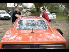 """1969 Dodge Charger - General Lee from """" The Dukes of Hazzard"""" Movie - Rear - Seann William Scott & Johnny Knoxville - Wallpaper Seann William Scott, Dukes Of Hazard, 1969 Dodge Charger, General Lee, Confederate Flag, Screenwriting, Mopar, Filmmaking, Jeep"""