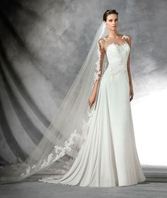 9266e25752 87 Best Pronovias Wedding Dresses images