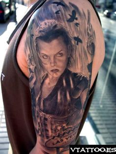 1000 images about resident evil tattoos on pinterest resident evil tags and umbrella corporation. Black Bedroom Furniture Sets. Home Design Ideas