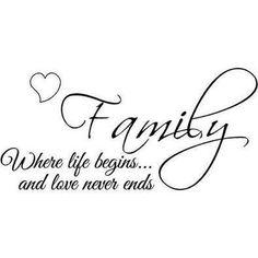 Familia lo más importante para mi... LISTO!
