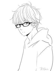 Anime Face Drawing, Boy Drawing, Anime Character Drawing, Drawing Base, Character Art, Art Anime, Anime Art Girl, Anime Boys, Manga Art