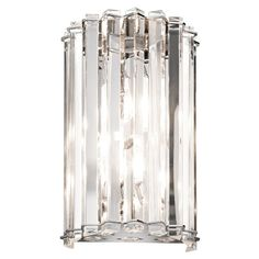 View the Kichler 42175 2 Light Wall Sconce from the Crystal Skye Collection at LightingDirect.com.