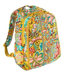 Vera Bradley Backpack, as you can tell I am pretty obsessed with the yellows