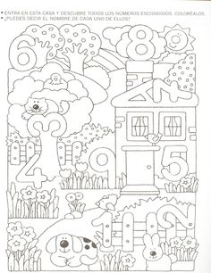 Crafts,Actvities and Worksheets for Preschool,Toddler and Kindergarten.Free printables and activity pages for free.Lots of worksheets and coloring pages. Numbers Preschool, Math Numbers, Kindergarten Worksheets, Worksheets For Kids, Math Classroom, Teaching Math, Math Activities, Preschool Activities, Preschool Number Worksheets