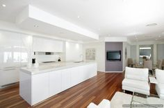 modern kitchen by Kitchens By Design Australia