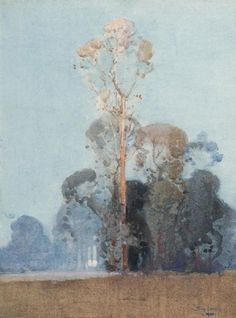 Art market auction sales from the to 2019 for works by artist Sydney Long and values for over other Australian and New Zealand artists. Long Painting, Watercolor Portrait Painting, Watercolor And Ink, Painting Trees, Australian Painting, Australian Art, Great Paintings, Nature Paintings, Landscape Art