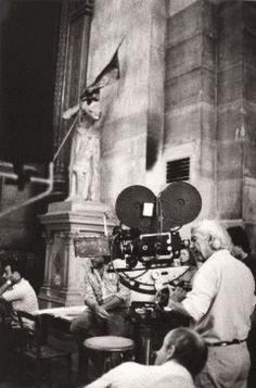 Robert Bresson, Michelangelo Antonioni, French Films, Great Films, Pictures Of People, Film Director, On Set, Cinematography, Filmmaking