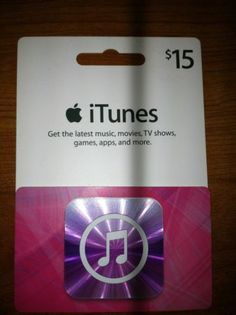 iTunes/App store gift card for my 14 year old sister