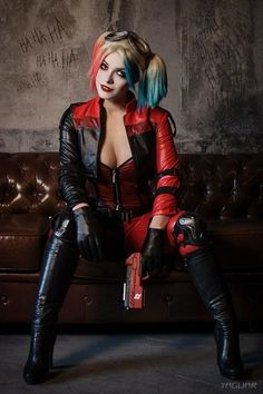 Tagged with cosplay, batman, harley quinn, dc comics; Harley Quinn by Irina Meier Cosplay Dc Cosplay, Cosplay Lindo, Cute Cosplay, Best Cosplay, Cosplay Girls, Batgirl Cosplay, Female Cosplay, Harley Quinn Et Le Joker, Harley Quinn Drawing