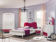 SL Yakut moderní dívčí pokoj / Cute children's room for girl