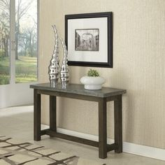 Shop for Concrete Chic Console Table. Get free shipping at Overstock.com - Your Online Furniture Outlet Store! Get 5% in rewards with Club O!