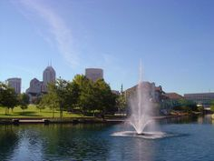 Relax in the park of  , a calm place just minutes from the bustling downtown metro area of #Indianapolis. Visit the  and book your #hotel with https://www.traveltura.com