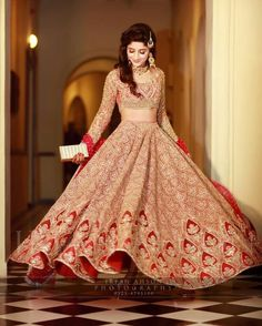 Pleasant to be able to the website, on this time We'll teach you regarding Indian Wedding Ideas Bridal Lehenga. Indian Bridal Outfits, Indian Bridal Wear, Pakistani Wedding Dresses, Indian Dresses, Lehnga Dress, Dress Skirt, Lehenga Designs, Mehndi Designs, Bridal Lehenga