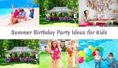 Awesome Summer Birthday Party Ideas for Your Kids - Baby Ice Cream Birthday Party Theme #birthdayparty #birthdaypartyideas #summerparty #kids #baby #children