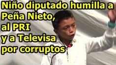 Anonymous: Niño diputado divulga a niños mexicanos la corrupción del PRI...