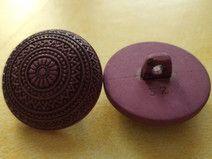 7 violette Knöpfe 21mm (2038) Jackenknöpfe Knopf