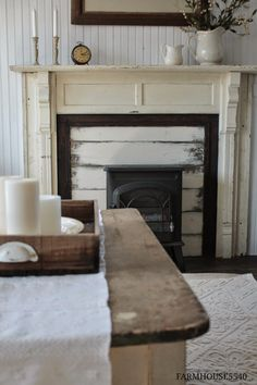 FARMHOUSE 5540: Farmhouse Friday ~ What Farmhouse Style Means to Me ***RUG! and mantel***
