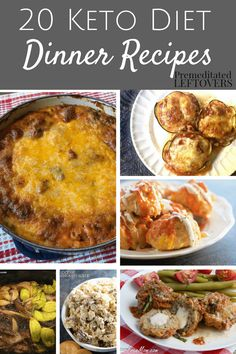 Keto Dinner Recipes are a must for the ketogenic diet. Check out our favorite keto friendly recipes for your family! Keto-friendly meal ideas. Low carbs!